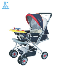Hot Sale Steel Tube Battery Operated Baby Stroller With Music