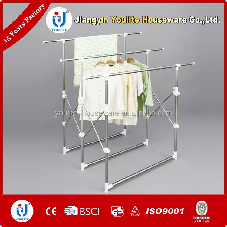 extended high-grade clothes display rack for kids