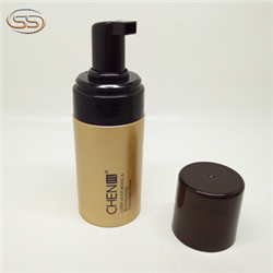 2oz label PET plastic foaming bottle for mouth