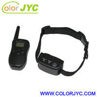 Rechargeable and waterproof training collar