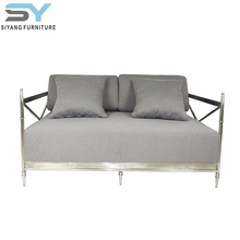 middle east popular sofa set with good quality stainless steel base SF002