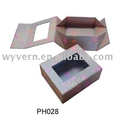 Perfume Foldable Paper Box with PVC Window