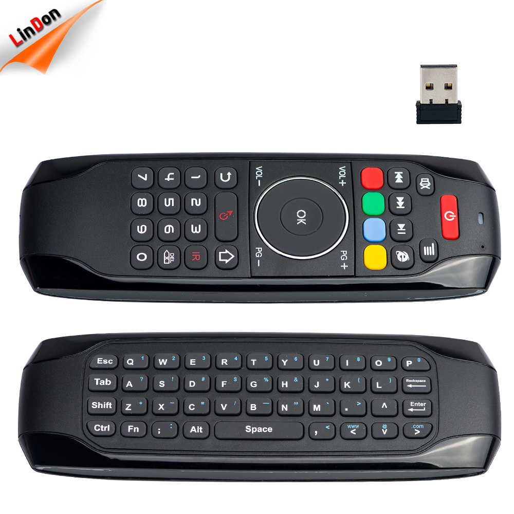 Small Battery Rechargeable 2.4G Wireless Air Mouse Remote Keyboard G7 For Android Smart TV Box