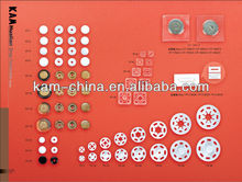 Square & round plastic Snap Button / snap fasteners