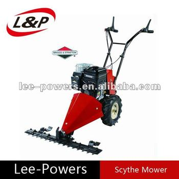 CE approved adjustable cutting height 205cc 6.5HP scythe electric lawn mower