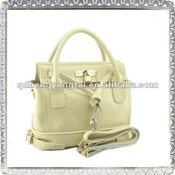 Top Fashion! Original 2011 Ladies Newest Design Genuine Leather Italy Handbags Style