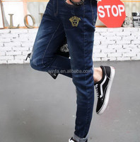 Good quality latest men's designer jeans wholesale
