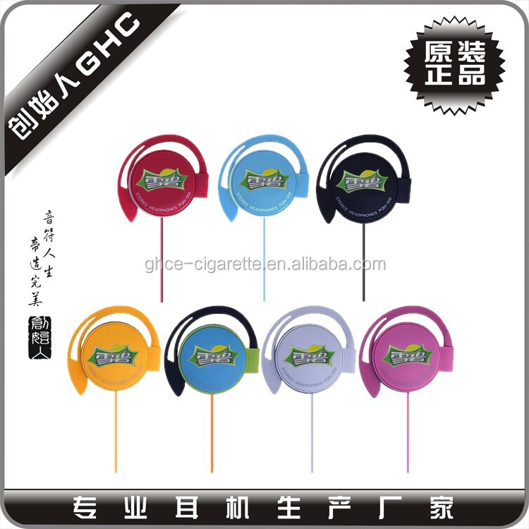 Earhook sport earphone with custom brand, Earhook earbuds with package, earhook sport headphones
