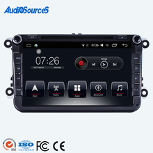 2 din car dvd gps navigation radio stereo for vw