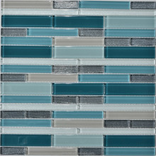 New glass mosaic glass tile for wall and floor, Free Sample