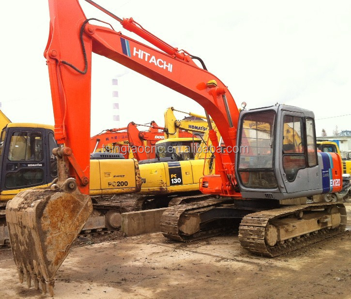 Secondhand construction excavator hitachi EX120-2 EX120-1, used hitachi excavator EX120-2