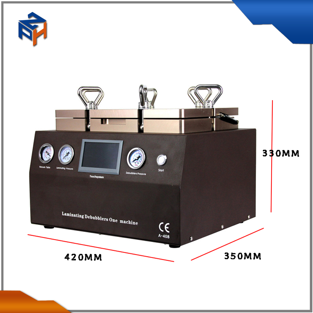 "mobile lcd making machine 5 in 1 laminating machine for lcd + Built-in Air Pump + vacuum oca machine for 12"" lcd"