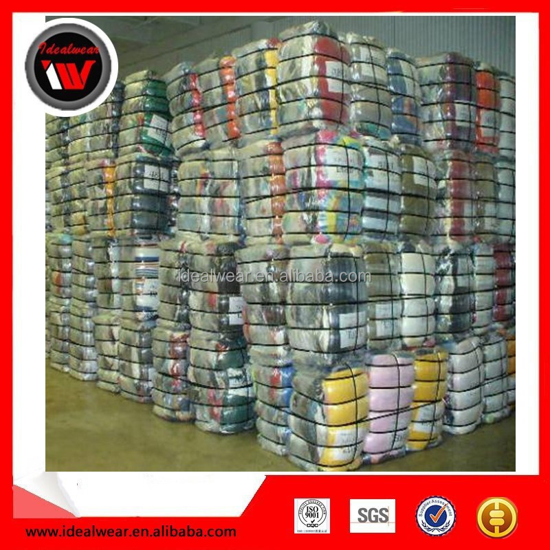 New Style bales of mixed used clothing for sale