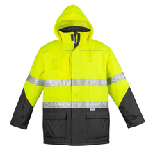 Classic Hi Vis Reflective Waterproof Security Guard Winter Jacket