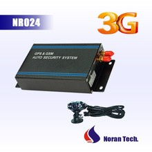 3G Gps tracking system support temperaturer sensor/fuel monitor/camera/rfid reader