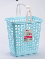 portable mesh rectangle 2 handles hanging trash can