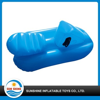 beautiful printing inflatable snow tube sledge