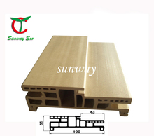 High Quality Low Price Pvc/ WPC Door Frame And Jamb