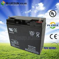 Bluesun high quality sealed lead acid battery 12v 20ah