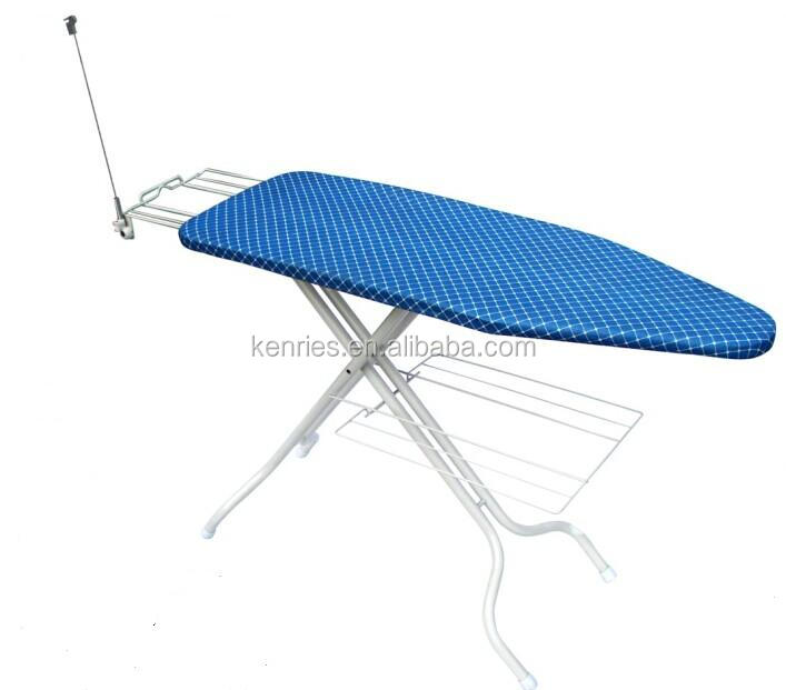 Big size folding mesh top iron board with antenna