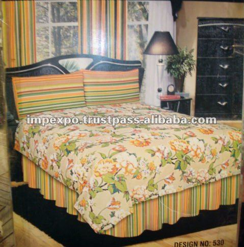Bed Sheet with 2 Pillow Covers