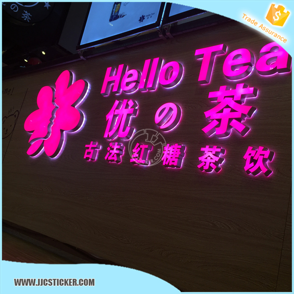 restaurant outdoor signs led mall front double side light,hot sale storefront signs prices,3D restaurant signs outdoor