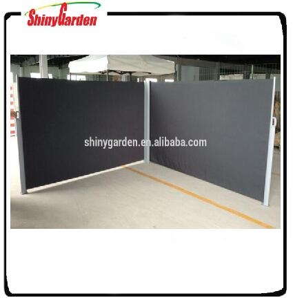 aluminum side awning double screen