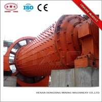 Industrial grinding powerful ball mill animation
