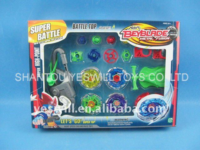 high-power beyblade top set, fashion battle top, spinning top
