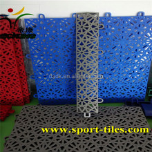 suspended outdoor basketball sport court tile