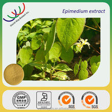 Hot!HACCP FDA GMP certified China manufacturer supply Sex product ingredient epimedium extract icariin 98%