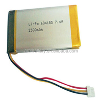 Li-polymer battery with 7.4V 2300mAh for mobile product
