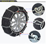 HF-101(8) Snow Chains For Passenger Cars 28 Series Titanium Alloy Metal Truck Snow Tire Chain