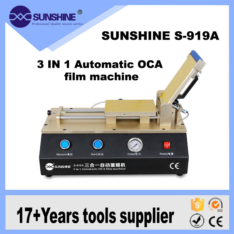 Factory Price 3 In 1 Automatic Vacuum Lcd Oca Lamination Equipment For Cell Phone Repair