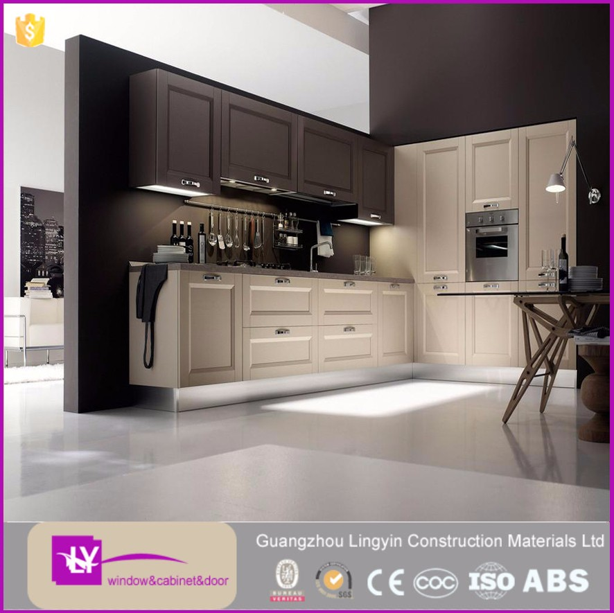 New French Style Kitchen Cabinet Home furniture Matte Lacquer kitchen Design