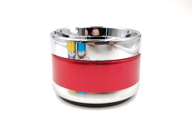 T034AM LVHE Aluminum Gold Black Red Blue Colors Dubai Smokeless Ashtray