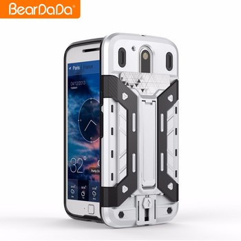 Plug-in card back cover for motorola moto g4 plus