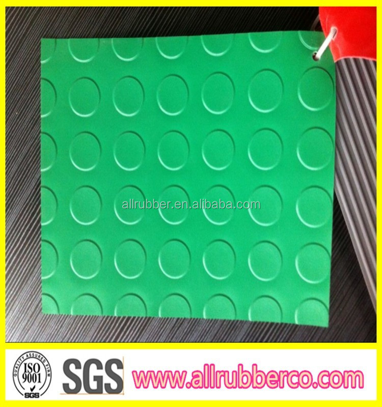 PVC coin checker diamond matting
