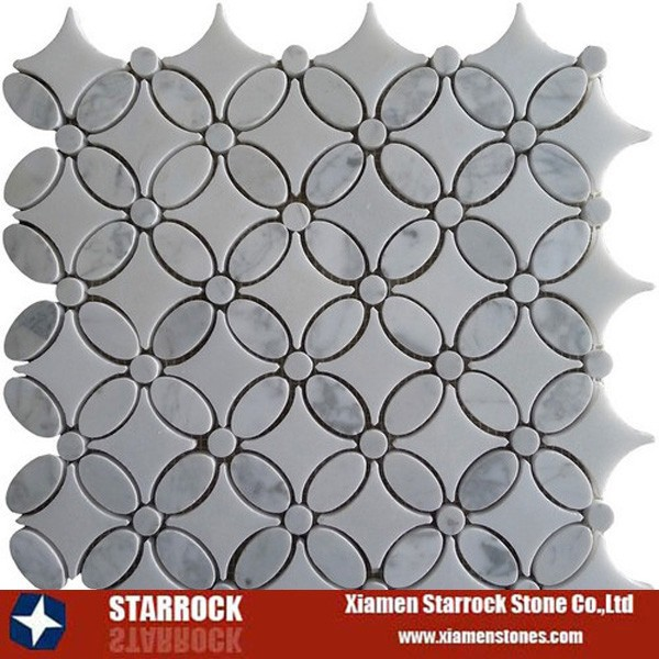 Cheap factory price marble stone mosaic tile
