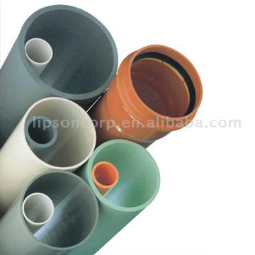ISO Standard Color Clear PVC Pipes 50mm