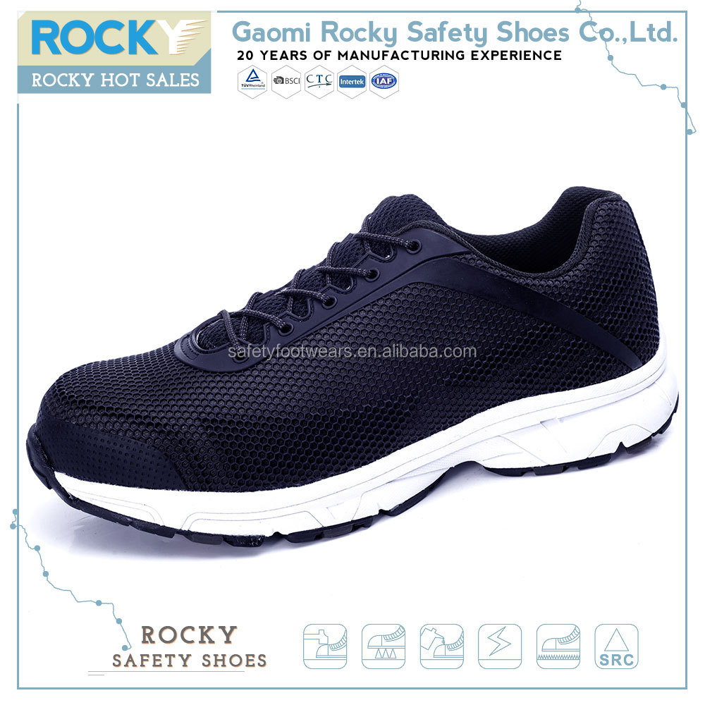 China brand name s3 anti-piercing soft sole sport safety shoes