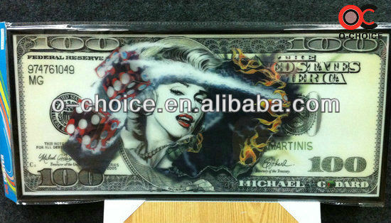 ZB-103 Hot Girl Sexy Nude Picture 3D Money Picture Paper Painting