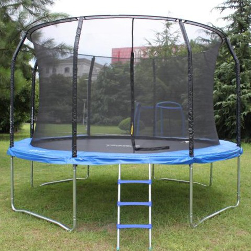 hot aldi trampoline with Top Ring Enclosure System with CE certificate