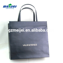 Offest printing surface handling branded retail paper shopping bags