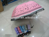 princess dome umbrella with lace