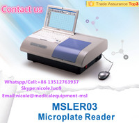 MSLER03-I Windows operation interface clinical microplate reader/Elisa reader and washer