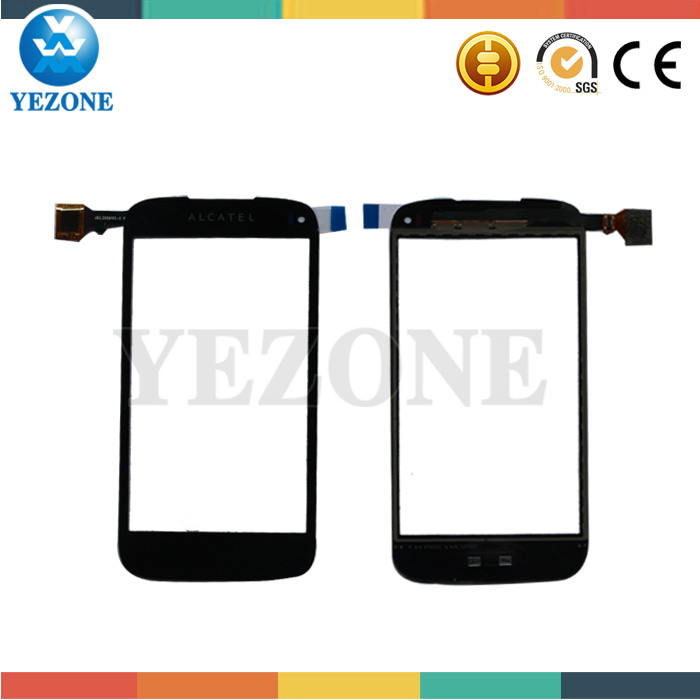 Original New Black/White Touch Screen For Alcatel ONE TOUCH OT-997 997D 997 OT-997 OT997 Digitizer Panel Free Shipping DHL EMS