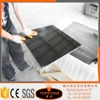 Chinese Shanxi Black Granite One Piece bathroom Sink And Countertop