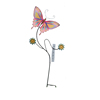 Brightly garden metal butterfly decorative stakes