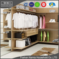 new model bedroom furniture wooden wardrobe with dressing table designs
